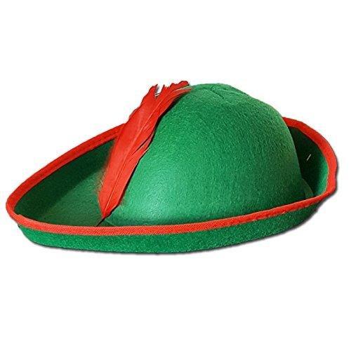 Abito elegante Bambini & Adulti Robin Hood Costume resistente del cappello duro