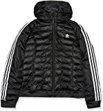 Adidas Damen Slim Jacke, schwarz (Black), 36