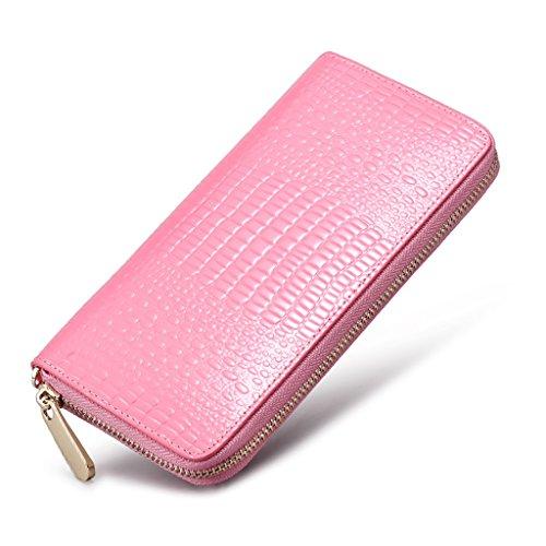 CLOTHES- L'Europa e gli Stati Uniti borsa in pelle borsa a mano borsa frizione Borsa Lady Borse Chain Pack Pack Ladies Dinner ( Colore : Nero ) Rosa