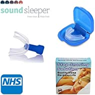 Anti Snore Mouth Guard for Snore Stopper Grinding Teeth Protection Sleeping Aid Apnoea Apnea Relief NHS and BPA Free