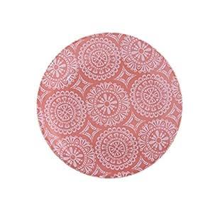 Heimtiercenter IZA Pearl Assiette en mélamine à motifs, corail,