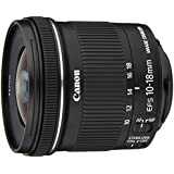 Canon EF-S 10-18 mm f/4.5-5.6 IS STM Obiettivo Ultragrandangolare con Zoom, per formato APS-C, Nero/Antracite
