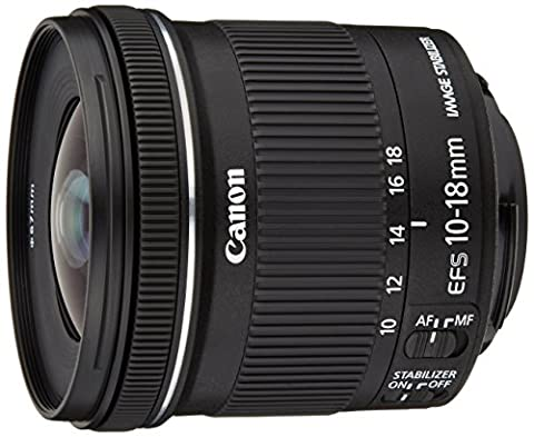 Canon - EF-S - Objectif - 10-18 mm f/4,5-5,6 IS