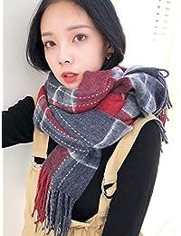 Yetta Écharpe étudiante Hiver et Automne écharpe en Laine Japonaise  Japonaise écharpe en Laine Douce Soeur 02b6352a9c3