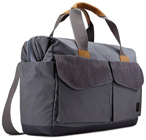 Case Logic LoDo Travel Bag Reisetasche für Notebooks bis 39,6 cm (15,6 Zoll) Graphite Grey -