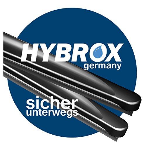 U-650/350 mm (F8) HYBROX ULTRA FRONT Scheibenwischer Satz für KIA Venga (YN) / Baujahr: 2010/02 bis heute - 2