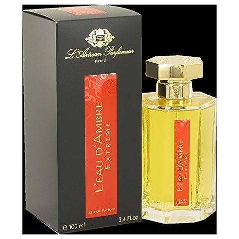 L'eau D'Ambre Extreme by L'Artisan Parfumeur Eau De Parfum Spray 3.4 oz 100ml