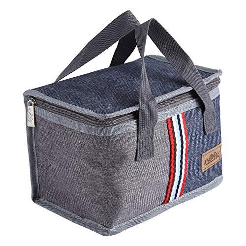 Borsa pranzo isolata, portatile borse per l'isolamento termico scatola per alimenti per lavoro picnic viaggio per uomini donne adulti bambini