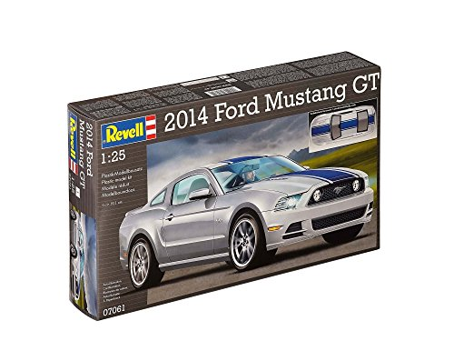 Revell - 07061 - Ford Mustang GT 2014 - 47 Pièces - Echelle 1/25