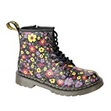 Dr.Martens Delaney Black Multi Kids Boots