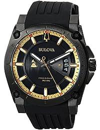 Bulova Men's Analog-Quartz Watch with Silicone Strap 98B294