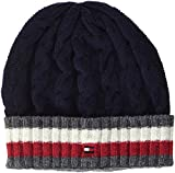Tommy Hilfiger Herren Strickmütze Cricket Jumper Beanie Blau (Tommy Navy 413), One Size