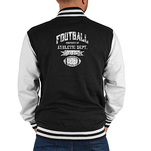 Mister Jacke ::: Football Athletic Dept. ::: mit USA Motiv auf der Rückseite Athletic Dept Sweatshirt