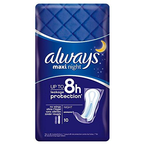 Always Maxi Night, Binden, 10 Stück