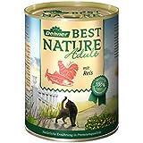 Dehner Best Nature Katzenfutter, Adult Lachs und Huhn, Probiergröße, 400 g