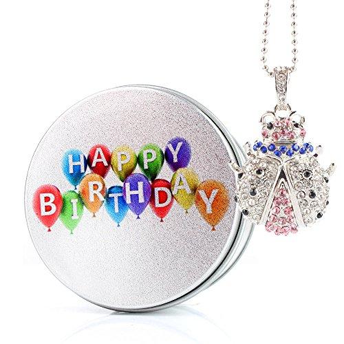 Anvor® 3D cristallo Scarafaggio Memoria 16 GB CHIAVETTA USB 2.0 - regalo di compleanno
