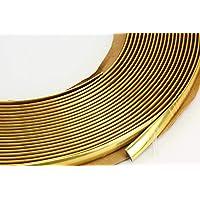 versch. Farben Gold Metallic - 2 x Nummernschildhalter ohne Werbung Farbige Kennzeichenhalter AA Kennzeichenhalterung mit abnehmbarer Leiste