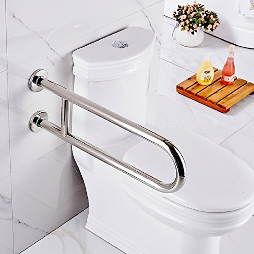 Wc-arm-schienen (SDKKY Sicherheit ArmlehneEdelstahl u-förmigen Arm Badezimmer Sicherheit schienen Badewanne Badezimmer wc Toiletten, EIN)