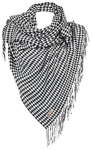 RW Fashion, delle donne Sciarpa - scialli, classico Cashmere & viscosa, - pied de poule - STK502
