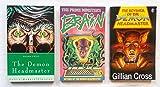 Demon Headmaster First 3 Volumes: 1 The Demon Headmaster / 2 The Prime Minister's Brain / 3 The Revenge of the Demon Headmaster