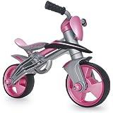 Injusa - Bicicleta Jumper Girl Balance con casco (502)