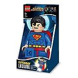 Lego Lights IQLGL-TOB20T - Superman 8,5 Zoll hohes Nachtlicht - DC Comics-Taschenlampe - LEGO