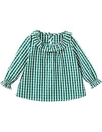 f2f285475 Amazon.es  Verde - Camisetas   Partes de arriba  Ropa