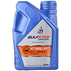 Gulfstar 4T Thriller 20W-40 4 Stroke Engine Oil for Motorbikes