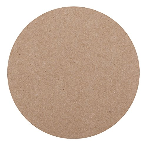 Hoffmaster 876110 Kraft Budget Tableau Dessous de Verre, 10,2 cm Round (lot de 1000) (Kraft, Cocktail Servietten)