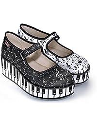 Amazon Mujer Zapatos Y De Pique Zapatos es Para Tela rFqAZrxT