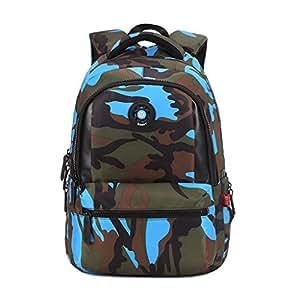Scolaire Uek Enfant Dos À Cartable Camouflage Primaire Sac f60r6tn
