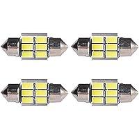 Bidyn (TM) 4x 360LM bianco auto festone LED interni tetto