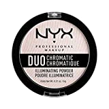 Nyx Professional Make Up Duo Chromatic Illuminating Powder Polvere Illuminante, Snow Rose
