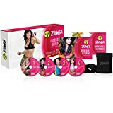 Zumba Fitness Unisex Incredibile Slimdown 4 Dvd, Trasparente