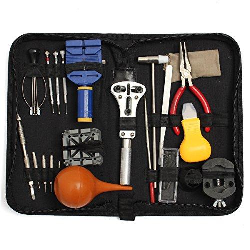 Preisvergleich Produktbild UhrenwerUhr Werkzeug Uhrenwerkzeug Set von Baban 22pcs Uhrmacherwerkzeug Uhren Reparatur Watch Tools