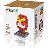 Loz Diamond Blocks Nanoblock Hello Kitty Featuring Iron Man Educational Toy 120pcs