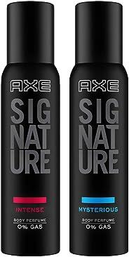 AXE Signature Body Perfume, Intense, 154ml + AXE Signature Body Perfume, Mysterious, 154ml