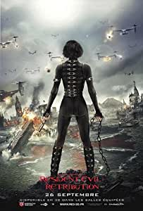 "J-4520 Resident Evil ""Retribution"" Movie Poster - Rare New - Image Print Photo"
