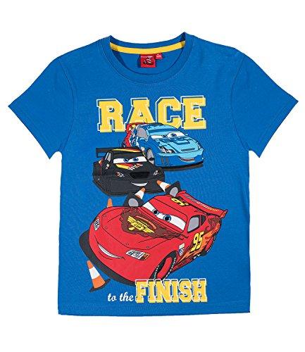 Disney Cars T-Shirt Jungen (104, blau)