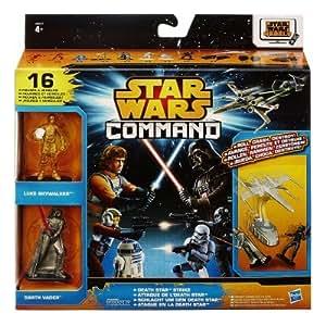 Figurines Star Wars Command : Coffret 16 figurines : Attaque de l'Etoile Noire