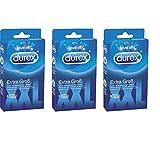 Durex Love Sex Extra Groß 6 Kondome (3er Pack) für mehr Komfort
