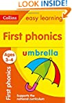 First Phonics Ages 3-4 (Collins Easy...