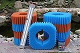 Wartungspaket für Teichfilter: Oase Filtoclear 30000 inkl. Schwammset, Lampe und Filterstarter