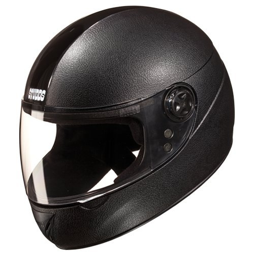 Studds Chrome Elite Helmet (Black, L)