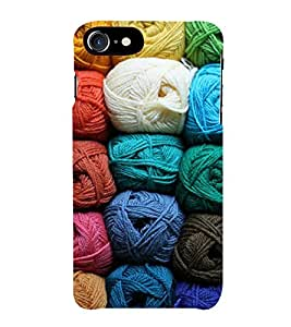 HiFi Designer Phone Back Case Cover Apple iPhone 6S :: Apple iPhone6S ( Colorful Wool Pattern Design )