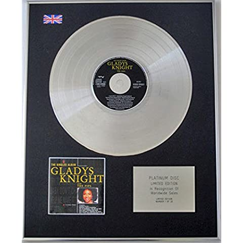 GLADYS KNIGHT & gli acini, Ltd Edtn Platinum-CD, ALBUM THE SINGLES