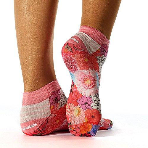Wigglesteps Damen Sneaker-Socken - 025 Colorful Flowers (1006-00261-660)