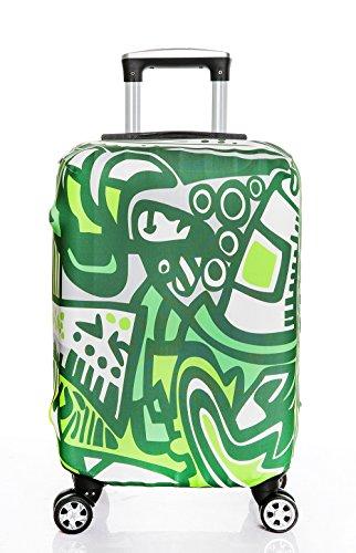 Gepäckraumabdeckung Protektor Kofferschutzhüllen Elastische 18-20 Zoll 22-24 Zoll 26-28 Zoll 30-32 Zoll Koffer Abdeckung (Koffer nicht im Lieferumfang enthalten)
