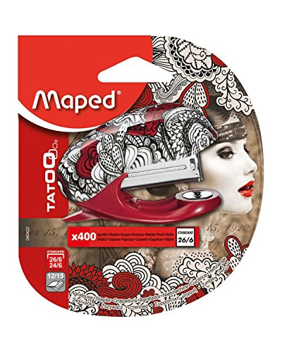 Maped M040422 - Hefter Tatoo Mini inklusiv 400 Klammern
