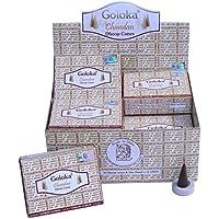 Räucherkegel Goloka Chandan Dhoop Cones 12 Schachteln 120 Kegel mit Halter Duft Aroma Großpackung Vorrat preisvergleich bei billige-tabletten.eu